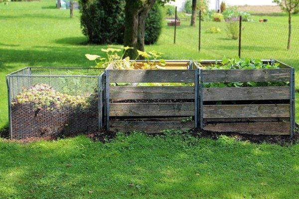 Composting in a 3-bin composting system