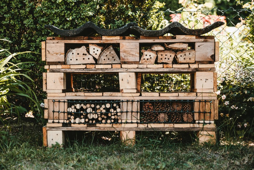 Pallets are a great upcycling item on the homestead.