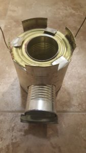 This is an easy DIY rocket stove