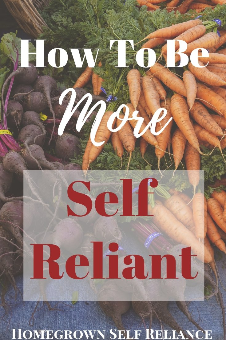 Self reliant, How To Be More Self Reliant