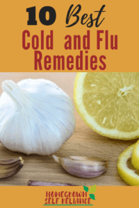 Here are the 10 best cold and flu remedies to try when you are sick! Bookmark this post so you can refer to it the next time you are sick with a cold or flu.