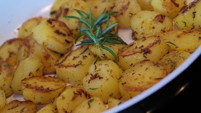 Potatoes are a great base for making cheap meals for big families