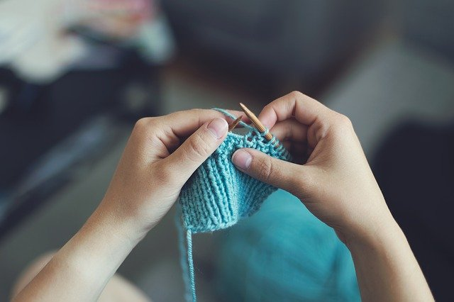 Skill building - knitting