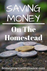 Homesteading can be expensive. Here are some great money saving tips so you can start livin' that #farmlife! #homesteading #homesteadtips #frugalliving