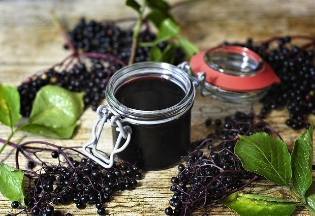 Elderberry elixir is a great herbal gift