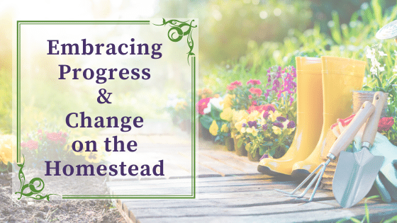 Embracing Progress and Change