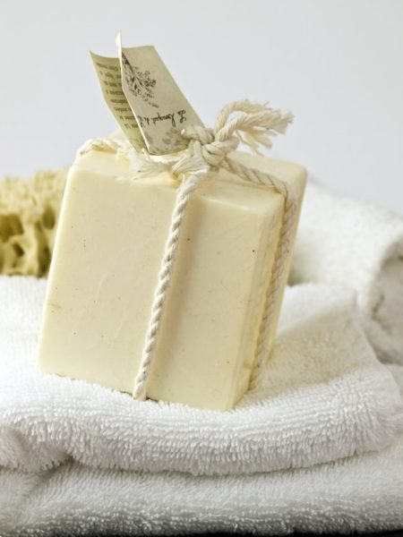 Soap making can be a source of homestead income