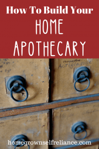 Building your own working home apothecary is the first step you should take in using herbs in your everyday life. Find out how to set up your own herbal apothecary here! #herbal #diyhealth #herbalmedicine
