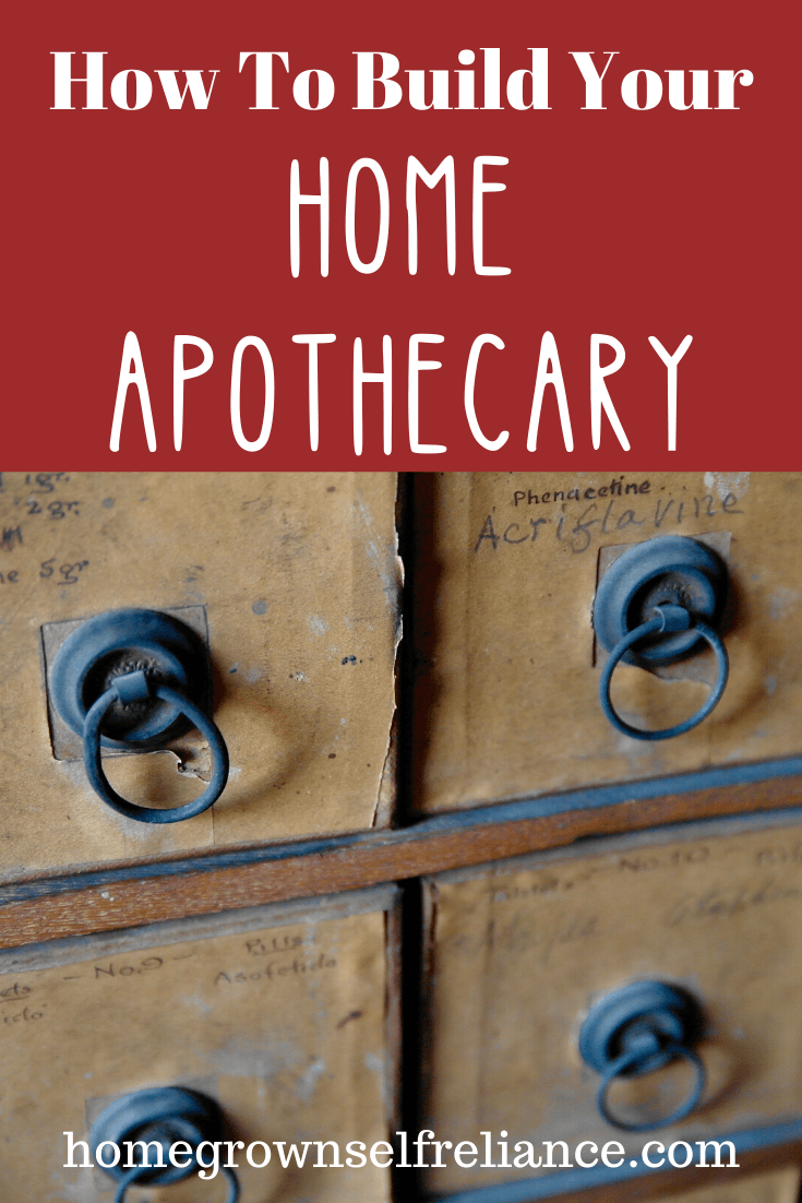 How to build your home apothecary