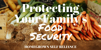 Protecting your family's food security