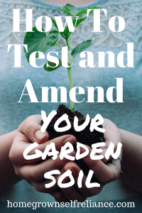 Your garden soil is a living thing, which means it needs tending to keep it healthy. Yearly testing and amending is very important. Find out how to fix your soil efficiently here! #gardening #veggies #soil