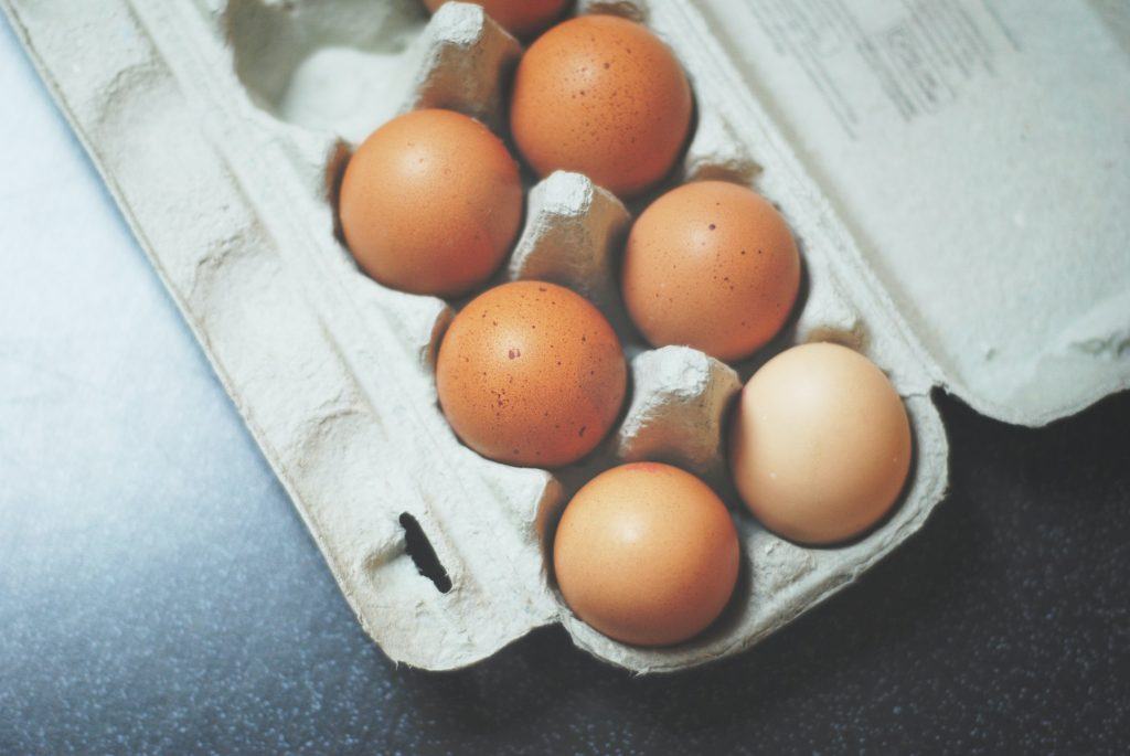 Eggs gathered to incubate