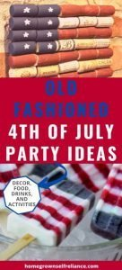 "Are you longing to bring back the ""good ole days""? This is how you can have an old fashioned 4th of July party with your family and friends."