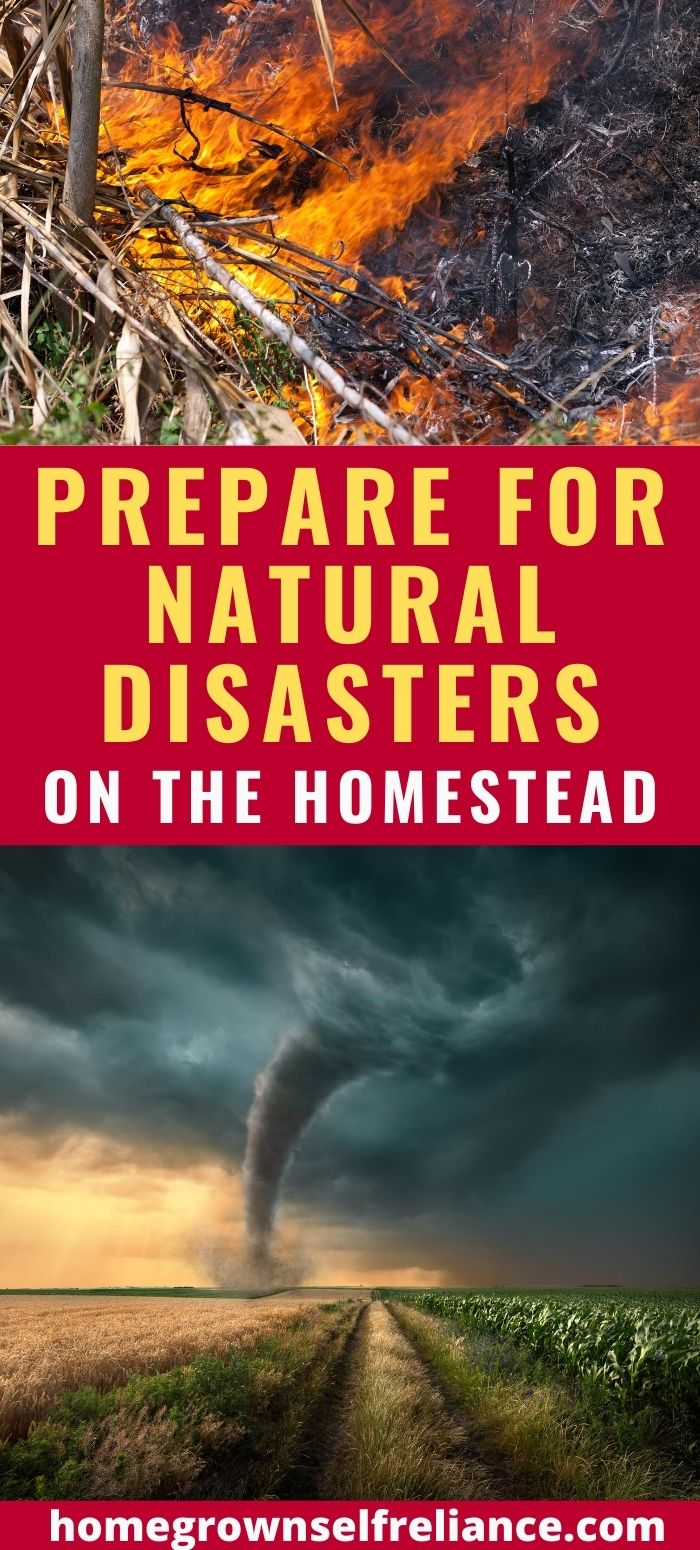 prepare for natural disasters, Preparing For Natural Disasters On The Homestead