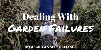 Dealing With Garden Failures