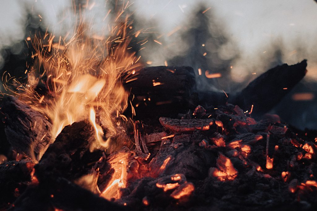 Fire building is an important bushcraft skill