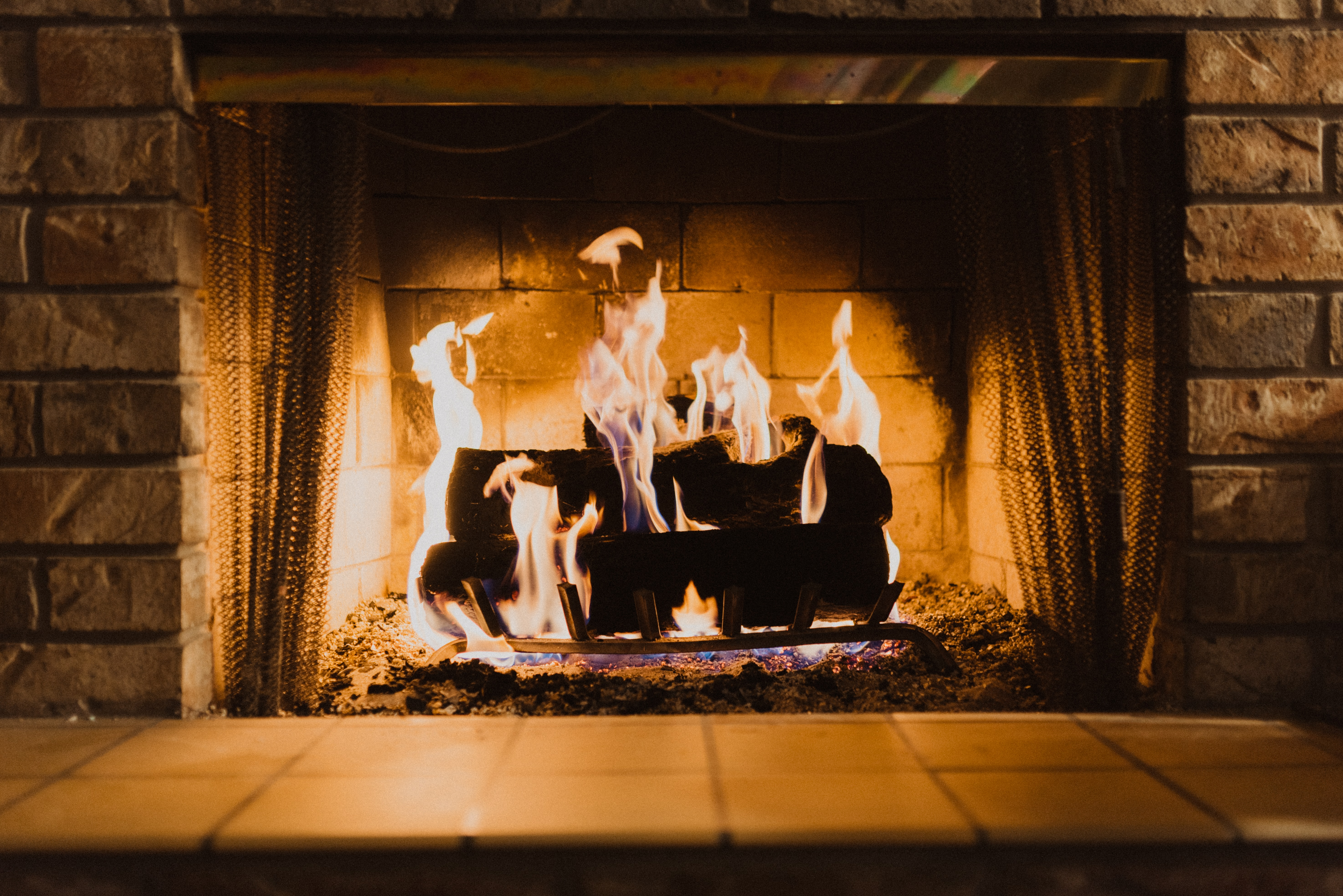 A fireplace is a good way of cooking without power