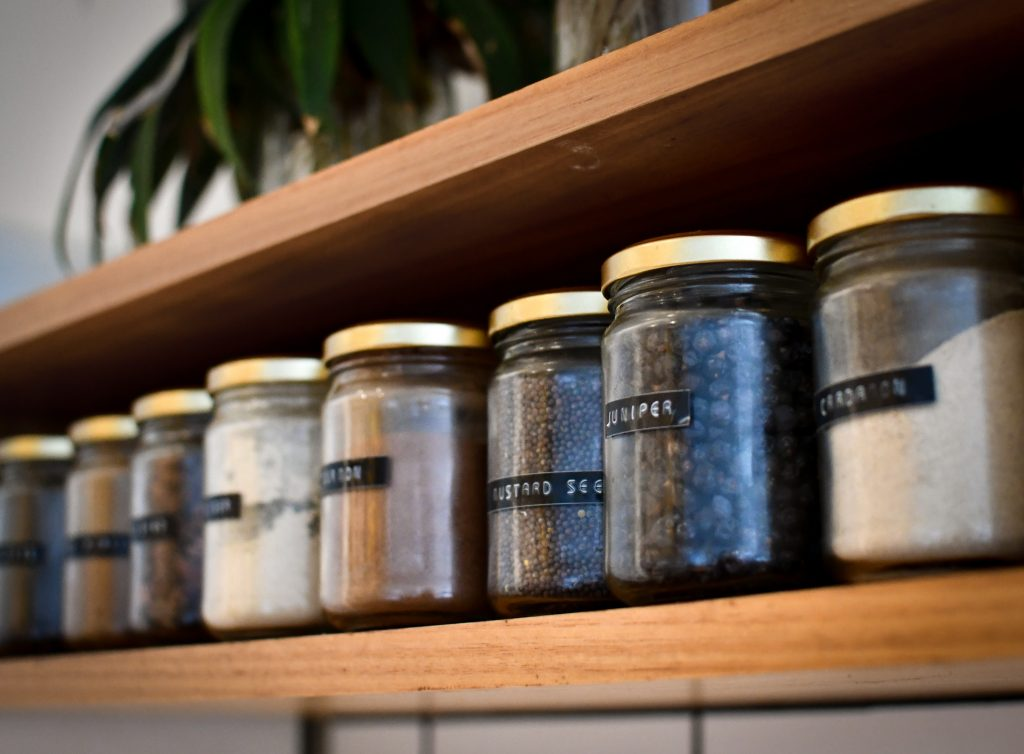 Find creative ways of storing your prepper pantry