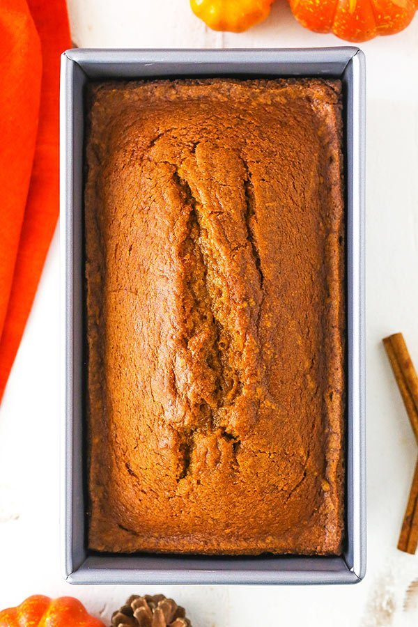 Pumpkin bread from Life Love and Sugar