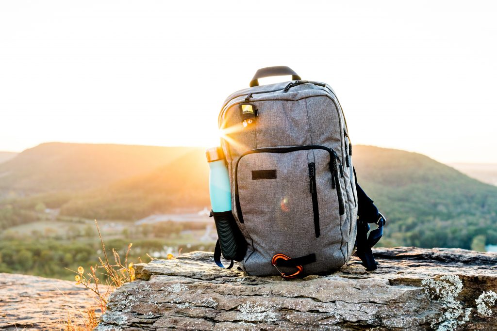 Hunting backpack with emergency supplies