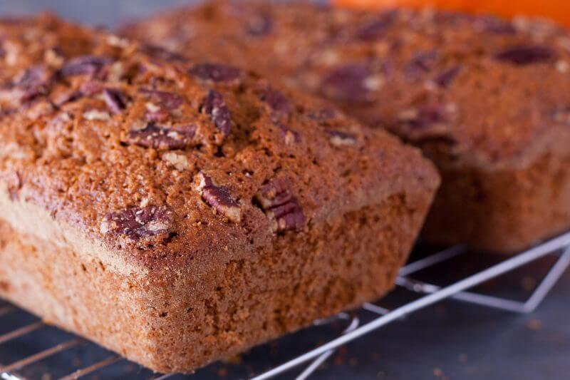 Pumpkin gut bread from Eating Richly
