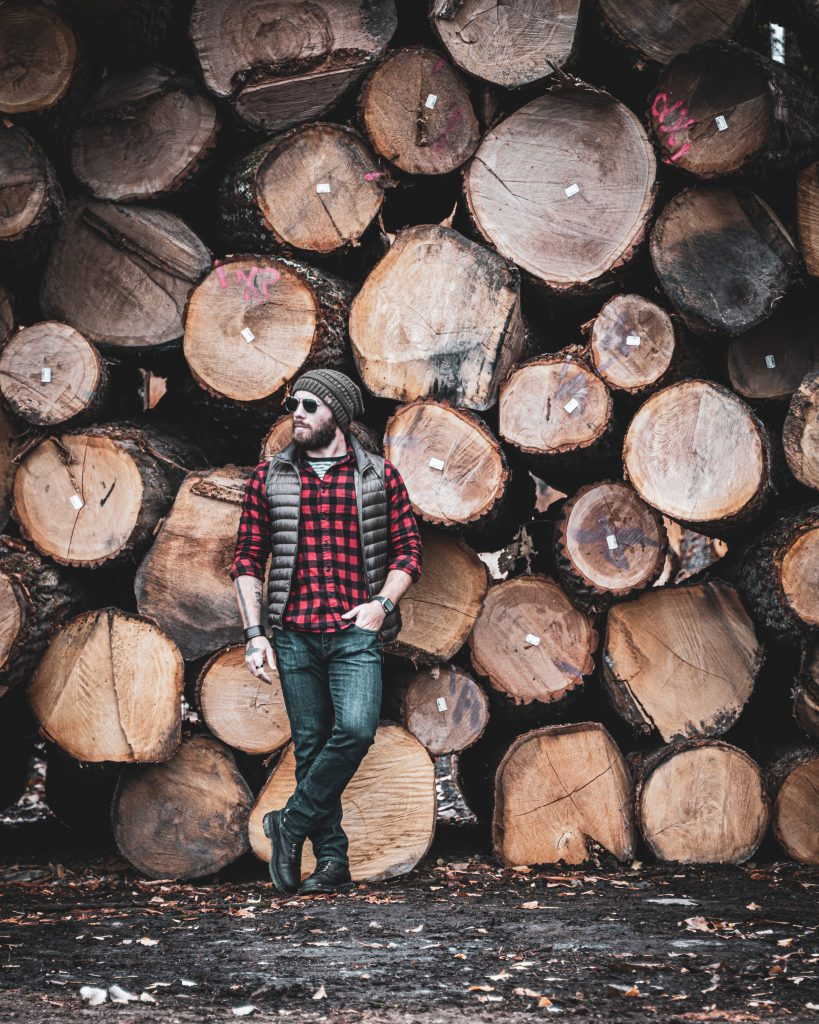 Buying wood from a local wood cutter can help your community
