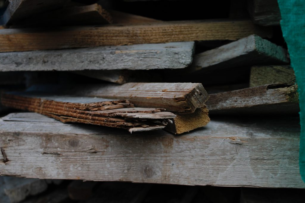 You can even use scrap wood to heat your home