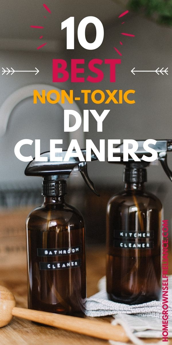 10 Best Non-Toxic DIY Cleaners