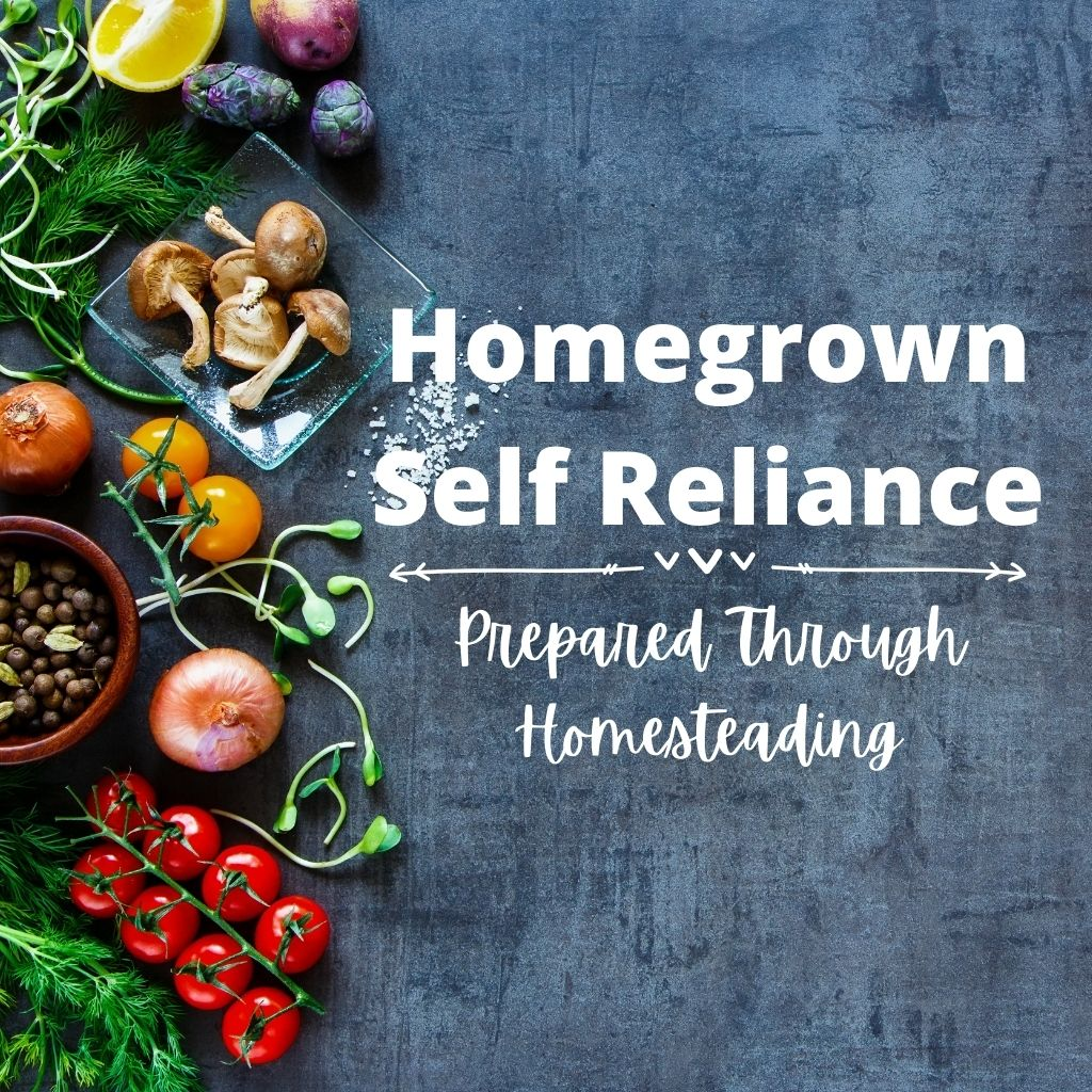 Homegrown Self Reliance - Prepared Through Homesteading
