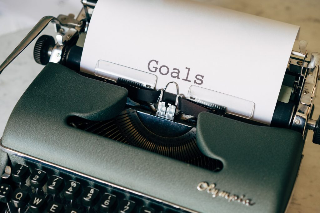 Plan out your goals on paper