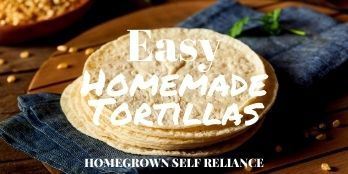 Easy Homemade Tortillas