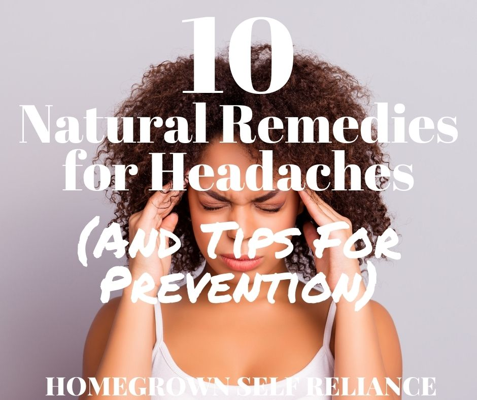 woman wincing in pain - Natural Remedies for Headaches (and Tips for Prevention)