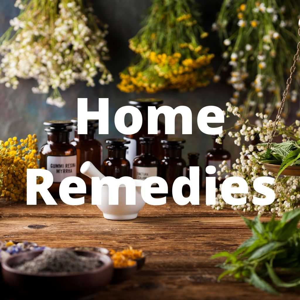 Home remedies are important to know, so you can take care of your own health