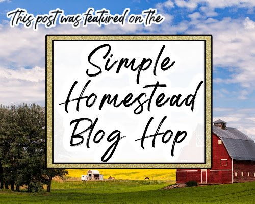 Simple Homestead Blog Hop feature badge