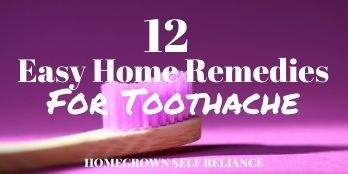 12 Easy Home Remedies for Toothache